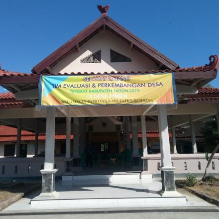 Ringin Wakili Kecamatan Pamotan dalam Lomba Desa Tingkat Kabupaten 2019